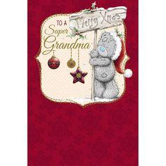 Super Grandma Me to You Bear Christmas Card  £3.59