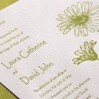 Chartreuse Invitations