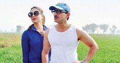 Kareena and Saif enjoyed during shooting for a brand