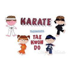 Martial Arts Set  Karate, Taekwondo