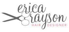 custom branding and logo design - hair designer/dresser logo