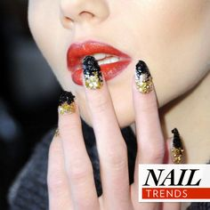 Nail trends from London and NY Fashion Week ;) Like it?