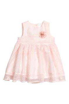 Sukienka bez rękawów - Jasnoróżowy - Dziecko | H&M PL 1