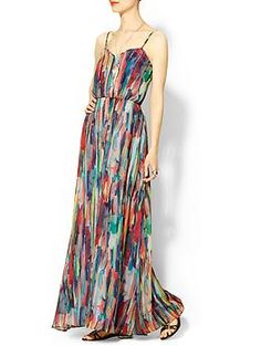 Jack by BB Dakota Bayberry Cascade Printed Maxi | Piperlime