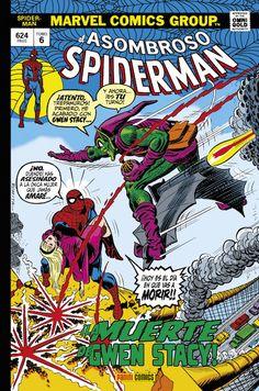 Marvel Gold. El Asombroso Spiderman 6 El más dramático suceso en la vida del Hombre Araña! En 1972, un joven de diecinueve años llamado Gerry Conway se convirtió en el sucesor de Stan Lee, el genio que había dado vida al trepamuros. Junto a John Romita, devolvió al trepamuros a sus esencias, pero hizo mucho más: convencido de que la novia del héroe suponía una rémora para éste, se deshizo de la adorable Gwen Stacy