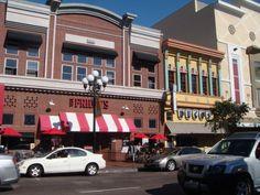 San Diego - Gaslamp Quarter - Hostorisches Altstadtviertel, Skyline | Tourius USA-Reisen