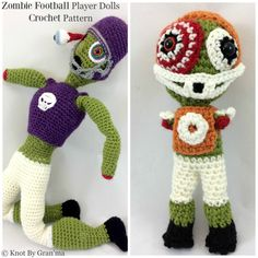 The Zombie Football Player Dolls Got a Makeover, And They Are Awesome http://knotbygranma.com/2017/01/27/the-zombie-football-player-dolls-got-a-makeover-and-they-are-awesome/