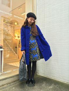 Marimekko ZOZO|staff3さんのステンカラーコート「Woolcoat / YLLE(marimekko|マリメッコ)」を使ったコーディネート