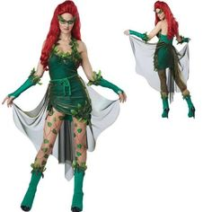 poison ivy costume cheap - Google Search