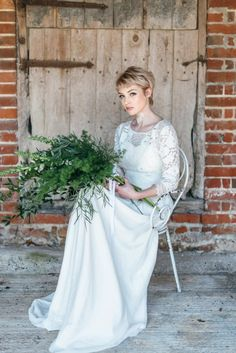 FESTIVAL BRIDES | White on White Wedding Inspiration Styled Shoot