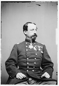 Col. Washington C. Tevis (1828-1900); West Point, Class of 1849. He served in the Ottoman Army during the Crimean War, commanded the 3rd Maryland Cavalry and was dismissed in 1864 (still being brevetted to Brigadier General). Afterwards he joined the Fenians in their invasion of Canada though he became a British double agent. Then he served in the Papal Army, the French Army during the Franco-Prussian War, the Egyptian Army (as Brigadier in the two later) and finally became a journalist.