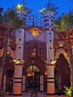 Ziwana Arte Restaurante , Marrakech, Marrocos - Entrada Principal