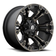 The Vapor wheel by Fuel. This is an offroad wheel for trucks and SUVs.