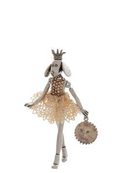 Necklace with really orginal pendant - Servane Gaxotte Paris