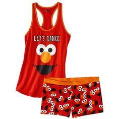 Sesame Street Junior's Tank & Short Sleep Set - Elmo