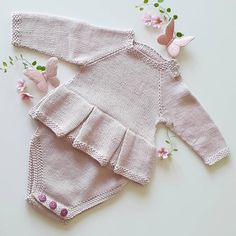 Knitting Projects, Knitting Patterns, Crochet Ideas, Rompers, Instagram Posts, How To Wear, Dresses, Fashion, Bebe