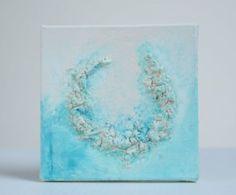 schilderij blauw powertex easy 3D flex