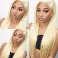 Cheap Lace Front Wigs, Blonde Lace Front Wigs, Straight Lace Front Wigs, Front Lace, Human Hair Color, Remy Human Hair, Remy Hair, Blonde Human Hair Wigs, Blonde Hair