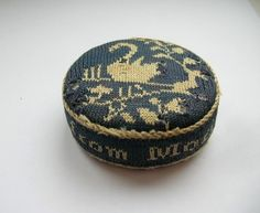 Antique Pin Cushion Dated 1824.
