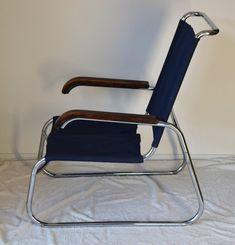 Marcel Breuer B35 chair; Dutch version. Now at Fabenz.com Mart Stam, Marcel Breuer, Bauhaus, Dutch, Designers, Chairs, Art Deco, Furniture, Architecture