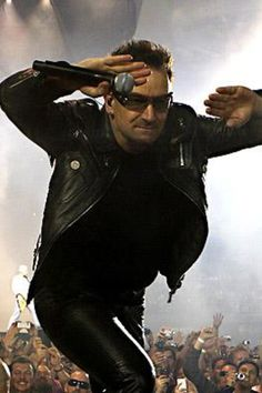 U2's one and only Bono!