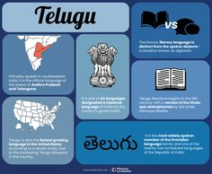 Telugu Language Translation - A Dravidian language spoken by close to 100 million people, Telugu is the official language of the South Indian States of Andhra Pradesh and Telangana. With close to 82 million native speakers, Telugu is the fourth most spoken native language in India and is one of the few languages to have official status in more than one State. Telugu is also the fastest growing language in the United States according to a recent study.