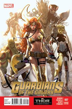 Guardians of the Galaxy V3 #7 Variant