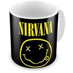 Caneca Personalizada Rock Nirvana Logo
