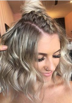 35 Best Half up Top Knot Braids for 2018