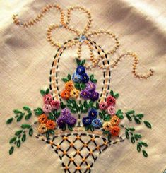 Getting to Know Brazilian Embroidery - Embroidery Patterns Hand Embroidery Videos, Hand Embroidery Flowers, Hungarian Embroidery, Embroidery Works, Embroidery Transfers, Brazilian Embroidery, Learn Embroidery, Hand Embroidery Stitches, Silk Ribbon Embroidery