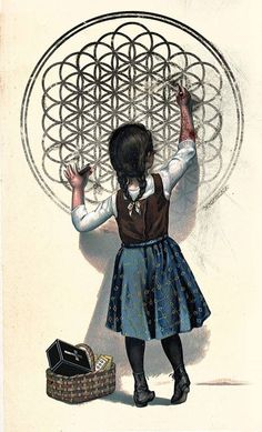 la flor de la vida - the flower of life