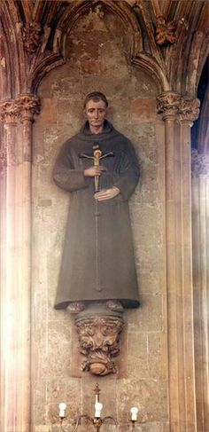 22 May 1538 - Friar John Forrest burned at the stake, the only Catholic to burn during Henry VIII's reign