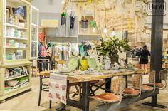 Anthropologie Los Angeles, retail inspiration, store styling, colourful eclectic style