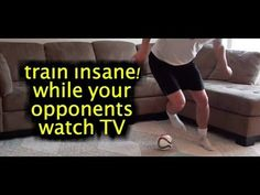 Train Insane! Why your opponents sit on the couch and watch TV. Click here to complete this 12 minute at home workout: https://www.youtube.com/watch?v=u_fiLAFPsIs