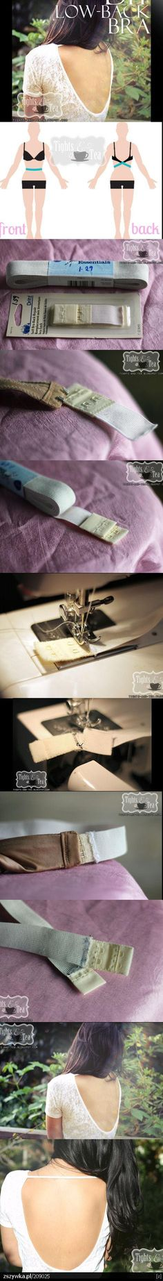 From the Runway to Your Closet, DIY Fashion Tips – FunFashionistaTips Sewing Bras, Sewing Lingerie, Sewing Clothes, Sewing Hacks, Sewing Tutorials, Sewing Projects, Sewing Patterns, Diy Bra, Bra Hacks
