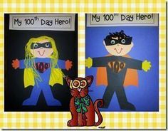SO much fun for the 100th day of school. A day full of learning and fun!