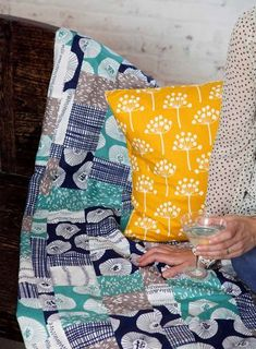 """Echo"" by Lotta Jansdotter for Windham Fabrics"