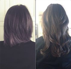Fun transformation #Tuesday for this amazing mom and solesister @chamberlain9902 she has in 150grams of 4 night life brown lockn long hair #tbarmethod #hairextensions stylist hairextension specialist stylists hair extensions whole sale bellami beauty blogger bellami beauty bloggers #beauty schools.