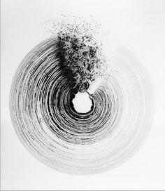 vjeranski:  Won Sou YeolSans titre, Technique mixte sur toile, 170x145cm, 2003, Collection Privée