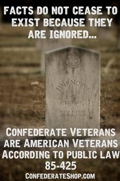 While the ideology of keeping slaves is reprehensible, they are veterans.