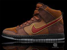 """size 40 88a5f c1920 Nike SB Dunk High Premium """"Cigar"""". Todd Bratrud x SPoT ..."""
