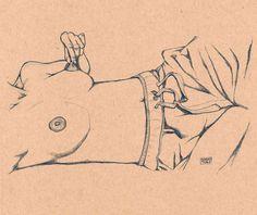 ilustraciones eroticas minimalistas tsuru