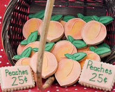 Beki Cook's Cake Blog: These Cookies are Just Peachy {Recipe}
