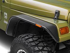 Jeep led hood light rough country jeep tj upper windshield led bushwacker flat style fender flares 97 06 wrangler tj mozeypictures Image collections