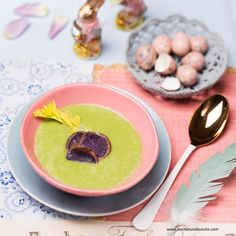 Grüne Selleriesuppe » Kochrezepte von Kochen & Küche Pudding, Desserts, Food, Cooking Recipes, Meal, Custard Pudding, Deserts, Essen, Hoods