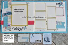 Wanderful Kit of the Month will be a perfect collection of 10 pages for all your travel photos. Learn more about it HERE: http://lynncomo.com/5712/july-kit-of-the-month-wanderful/