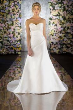 547 from Martina Liana via hitched.co.uk #Bridalwear