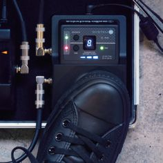 The A-T System 10 Stompbox wireless would look great on your pedal board. #livemusic #wireless #guitar #audiotechnica #proaudio