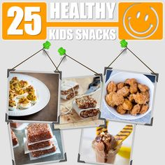 25 Healthy kids snacks via @Civilized Caveman Cooking Creations #paleo