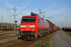 Trains and locomotive database and news portal about modern electric locomotives, made in Europe. Db Ag, Electric Locomotive, German, Europe, Train, Adventure, Vehicles, Modern, Locomotive